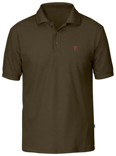Fjallraven Crowley Pique Shirt - Mens Shirts Fjallraven Dark Olive M