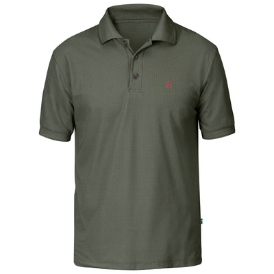 Fjallraven Crowley Pique Shirt - Mens Shirts Fjallraven Mountain Grey M