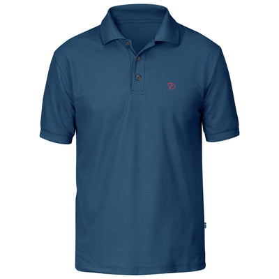 Fjallraven Crowley Pique Shirt - Mens Shirts Fjallraven Uncle Blue S
