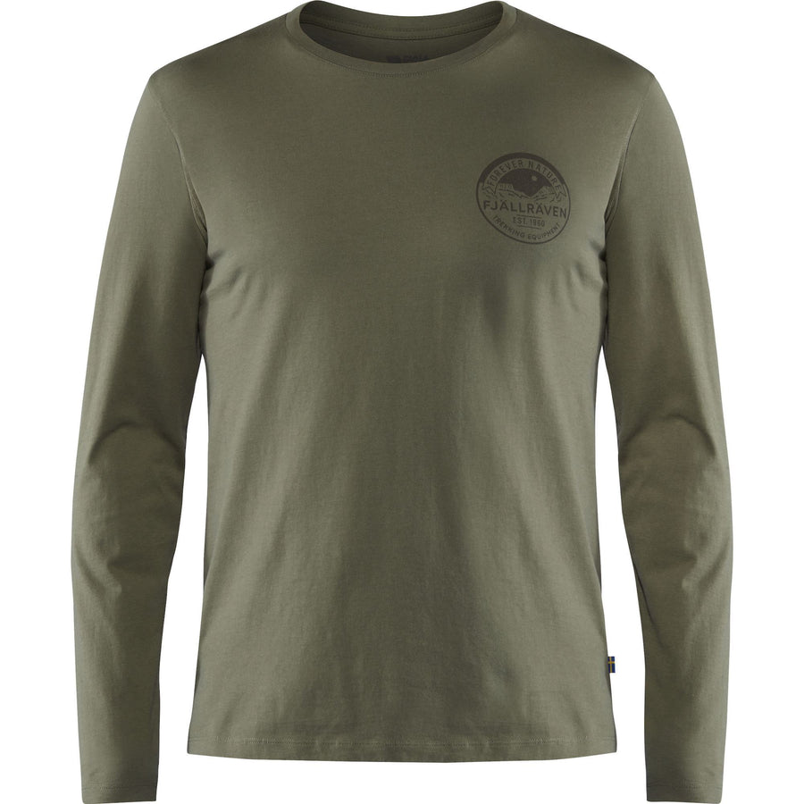 Fjallraven Forever Nature Badge Long Sleeved Shirt - Men's General Fjall Raven M Autumn Leaf