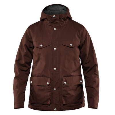 Fjallraven Greenland Winter Jacket - Womens Outerwear Fjallraven Maroon S