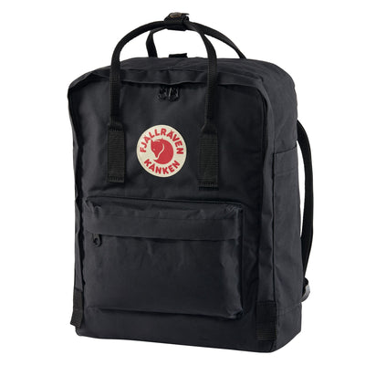 Fjallraven Kanken Backpack Bags & Packs Fjallraven Black