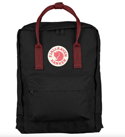 Fjallraven Kanken Backpack Bags & Packs Fjallraven Black/Red