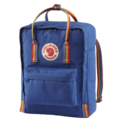 Fjallraven Kanken Backpack Bags & Packs Fjallraven Deep Blue/Rainbow