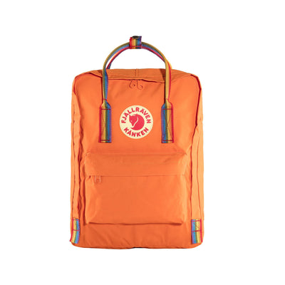 Fjallraven Kanken Backpack Bags & Packs Fjallraven Orange/Rainbow