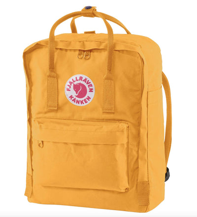 Fjallraven Kanken Backpack Bags & Packs Fjallraven Warm Yellow