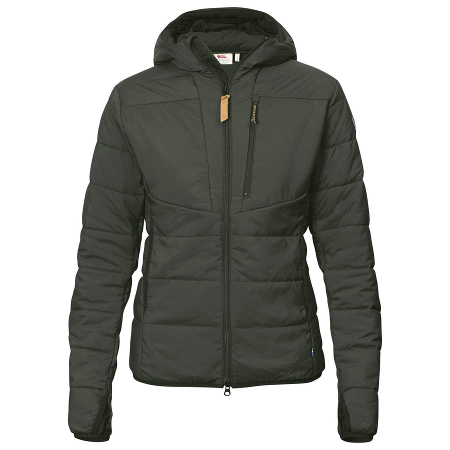 Fjallraven Keb Padded Hoodie - Women's Outerwear Fjallraven S Night Sky