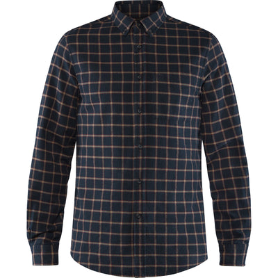 Fjallraven Ovik Flannel Shirt - Mens Shirts Fjallraven M Dark Navy