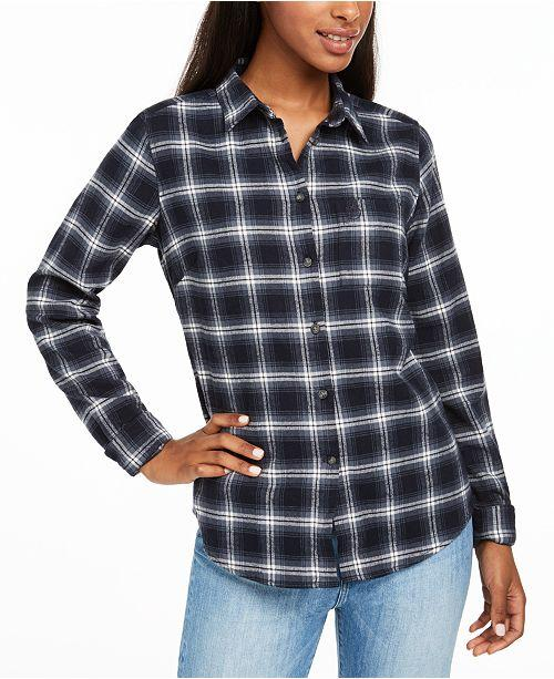 Fjallraven Ovik Flannel Shirt - Womens Shirts Fjallraven S Deep Red
