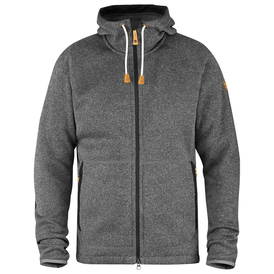 Fjallraven Ovik Fleece Hoodie - Men's Inventory Fjall Raven Dark Grey S