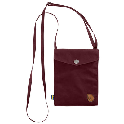 Fjallraven Pocket Shoulder Bag Bags & Packs Fjall Raven Dark Garnet OS