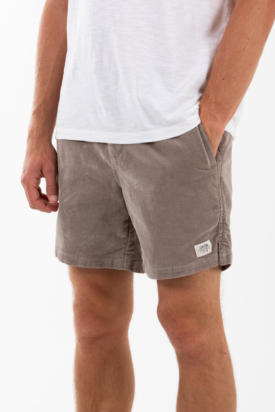 Katin Cord Local Short - Mens General Katin S Warm Grey
