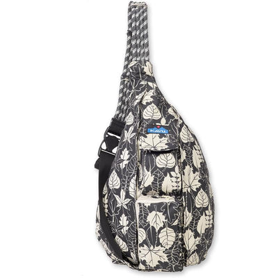 Kavu Rope Bag General KAVU Black/White Leaf
