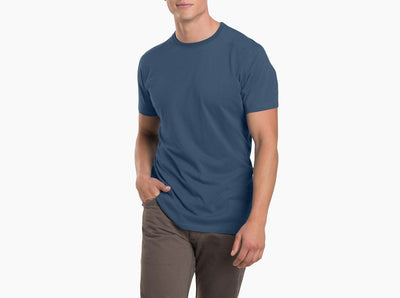 Kuhl Bravado T-Shirt - Men's Shirts Kuhl M Pirate Blue