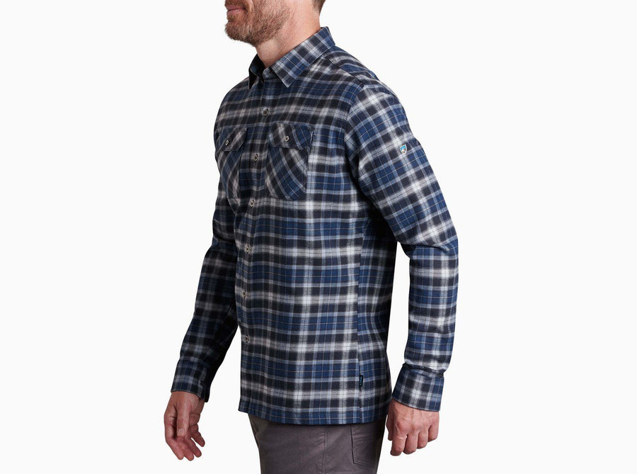Kuhl Dillingr Plaid Long Sleeve Shirt - Men's Shirts Kuhl Interstellar M