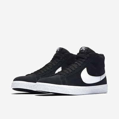 Nike SB Zoom Blazer Mid - Men's General Nike 7 Black/White