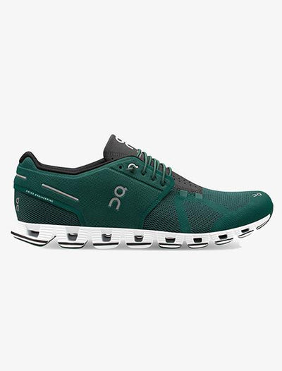 On Running Cloud Shoe - Men's General On Cloud 11 Evergreen/Black