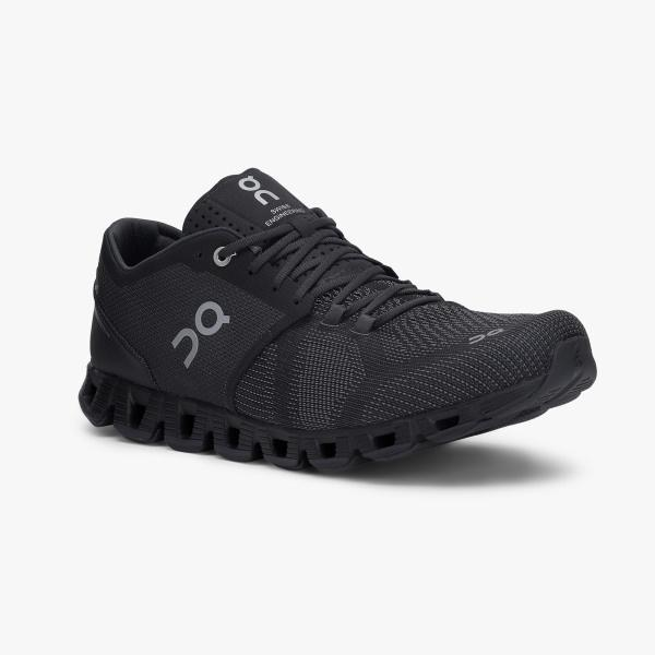 On Running Cloud X Shoe - Men's (Black/Asphalt) General On Cloud