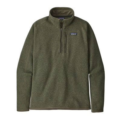 Patagonia Better Sweater 1/4 Zip - Mens Jackets & Fleece Patagonia M Industrial Green