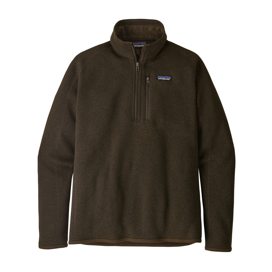Patagonia Better Sweater 1/4 Zip - Mens Jackets & Fleece Patagonia S Black