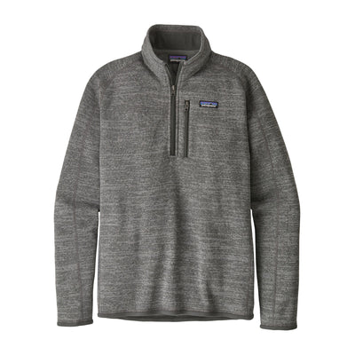 Patagonia Better Sweater 1/4 Zip - Mens Jackets & Fleece Patagonia M Nickel