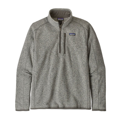 Patagonia Better Sweater 1/4 Zip - Mens Jackets & Fleece Patagonia M Stonewash