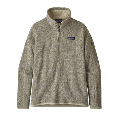 Patagonia Better Sweater 1/4 Zip - Womens Jackets & Fleece Patagonia Pelican XS
