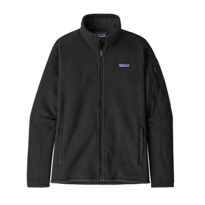 Patagonia Better Sweater Jacket - Womens Jackets & Fleece Patagonia Black S