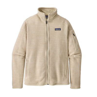 Patagonia Better Sweater Jacket - Womens Jackets & Fleece Patagonia Oyster White XS