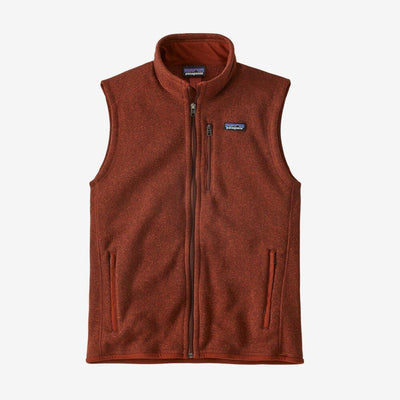 Patagonia Better Sweater Vest - Men's Jackets & Fleece Patagonia Barn Red XL