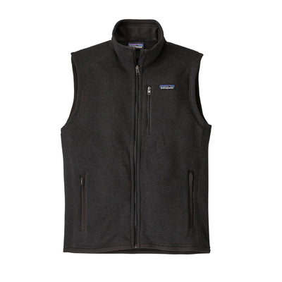 Patagonia Better Sweater Vest - Mens Jackets & Fleece Patagonia Black S