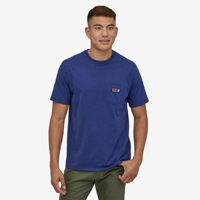 Patagonia Boardshort Label Pocket Responsibili-Tee - Men's General Patagonia
