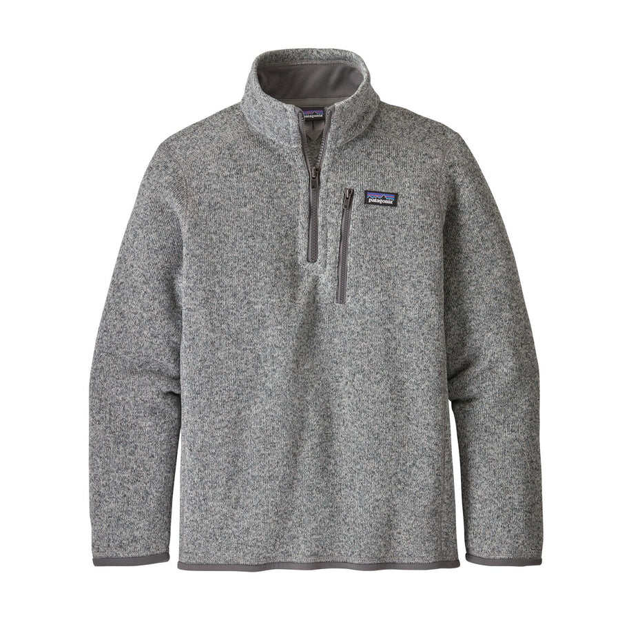 Patagonia Boys Better Sweater 1/4 Zip Jackets & Fleece Patagonia XS Stonewash