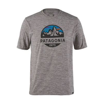 Patagonia Capilene Cool Daily Graphic Shirt - Mens Shirts Patagonia S Fitz Roy Scope: Feather Grey
