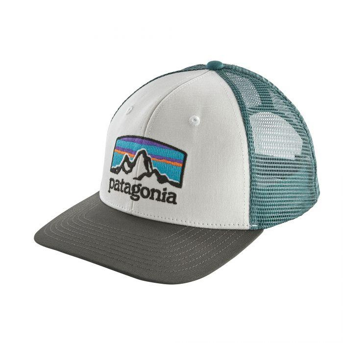 Patagonia Fitz Roy Horizons Trucker Hat General Patagonia White w/Classic Navy
