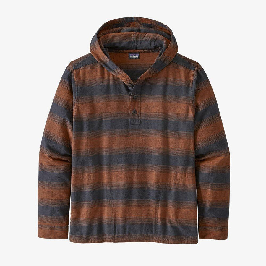 Patagonia Fjord Flannel Hoody - Men's General Patagonia M Horizon Ombre: Desert Orange