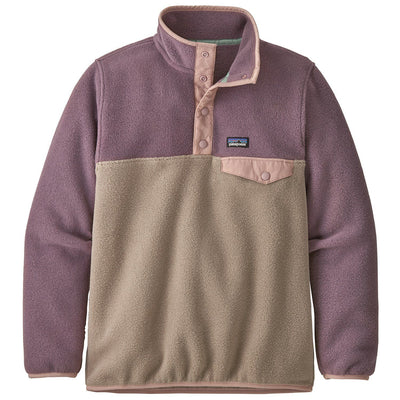 Patagonia Girls Synchilla Snap-T General Patagonia XS Furry Taupe