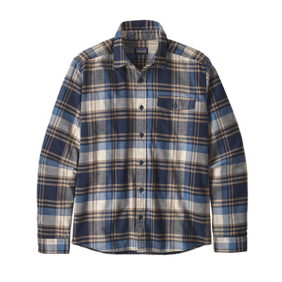 Patagonia Lightweight Fjord Flannel Shirt - Mens Shirts Patagonia Buttes: New Navy S