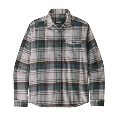 Patagonia Lightweight Fjord Flannel Shirt - Mens Shirts Patagonia Buttes: Tailored Grey S