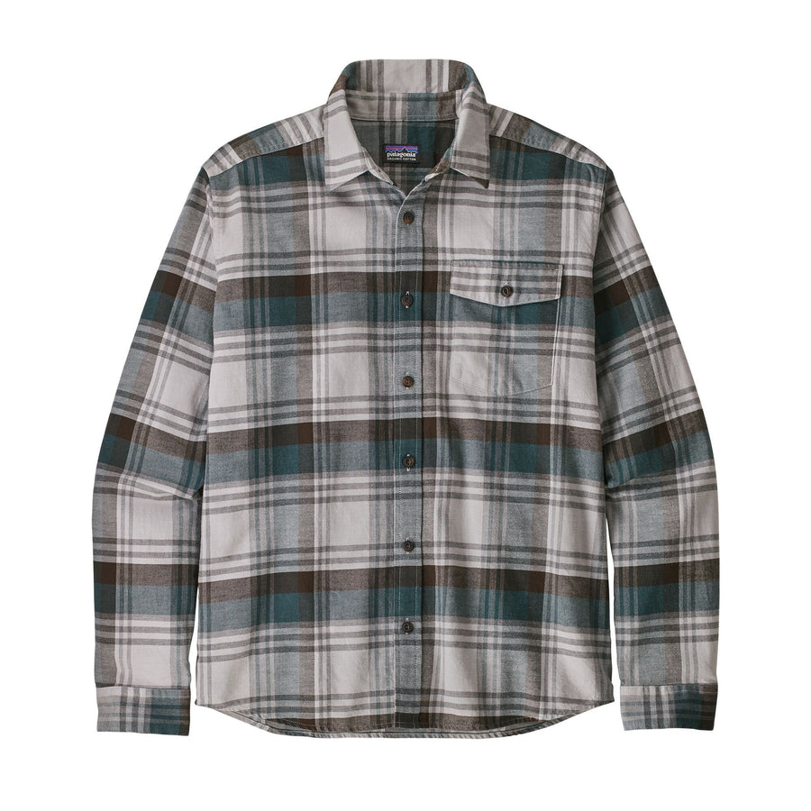 Patagonia Lightweight Fjord Flannel Shirt - Mens Shirts Patagonia Unbroken: New Navy XS
