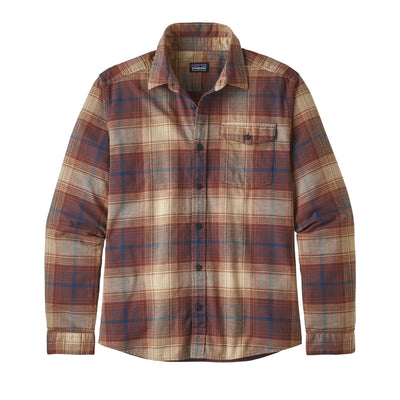 Patagonia Lightweight Fjord Flannel Shirt - Mens Shirts Patagonia Canopy: Sisu Brown S