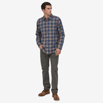 Patagonia Long Sleeved Pima Cotton Shirt - Men's Inventory Patagonia