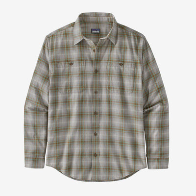 Patagonia Long Sleeved Pima Cotton Shirt - Men's Inventory Patagonia Brew: Tuber Tan S