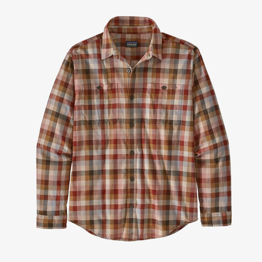 Patagonia Long Sleeved Pima Cotton Shirt - Men's Inventory Patagonia Brew: New Navy M