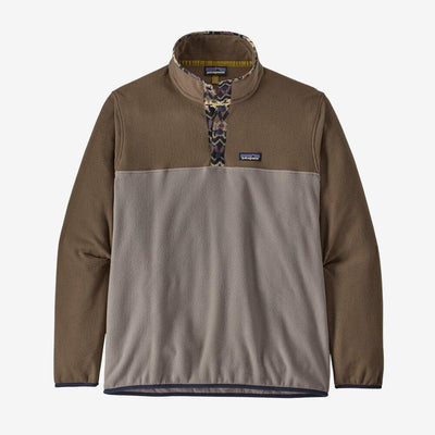Patagonia Micro D Snap-T Pullover - Men's Jackets & Fleece Patagonia M Furry Taupe