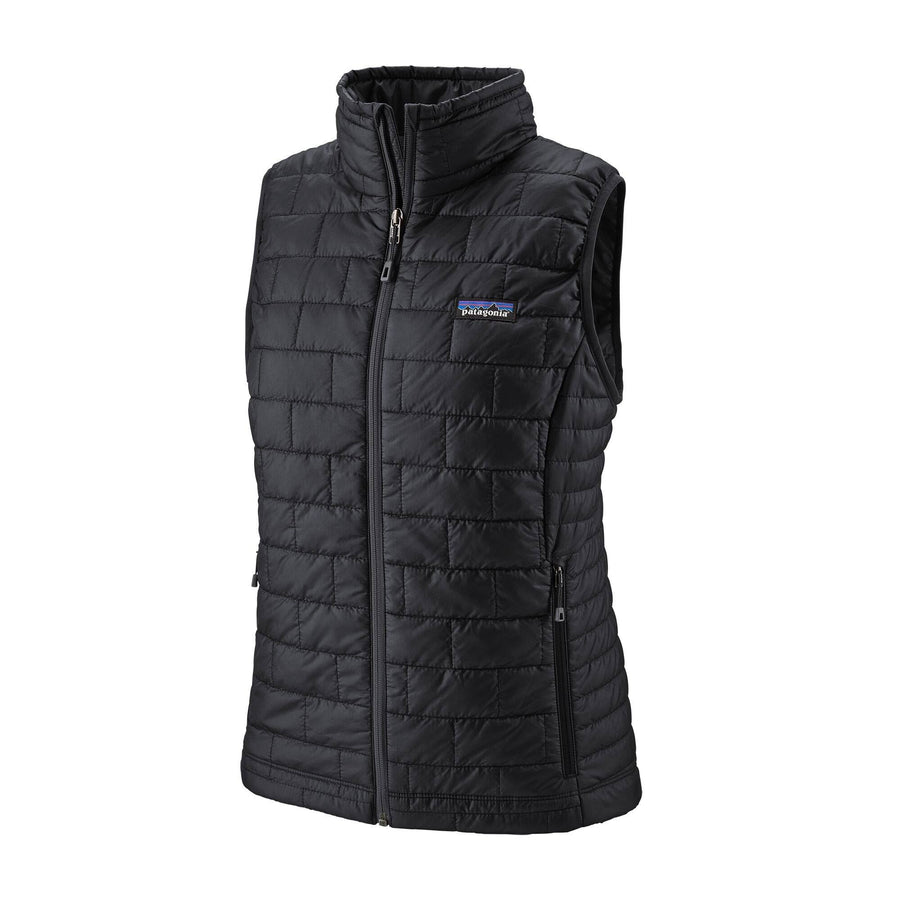 Patagonia Nano Puff Vest - Womens Jackets & Fleece Patagonia Black XS