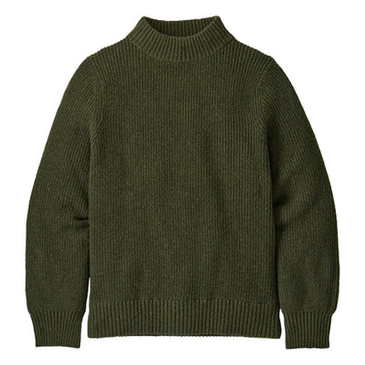 Patagonia Off Country Mock Neck Sweater General Patagonia XS Basin Green