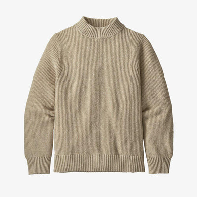 Patagonia Off Country Mock Neck Sweater General Patagonia XS Natural