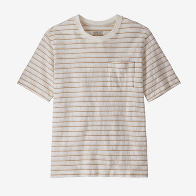 Patagonia Organic Cotton Midweight Pocket Tee - Men's General Patagonia S Cordelette: Birch White