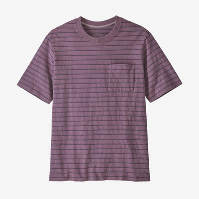 Patagonia Organic Cotton Midweight Pocket Tee - Men's General Patagonia S Cordelette: Hyssop Purple